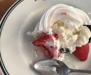 dessert and strawberry image