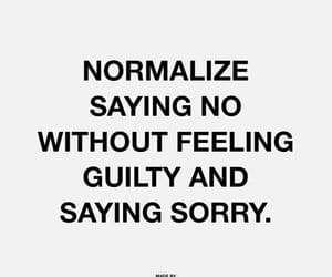 quotes, no, and sorry image