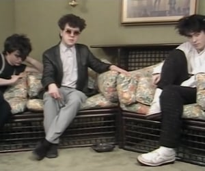 robert smith, the cure, and simon gallup image