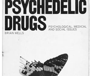 book, drugs, and psychedelic image
