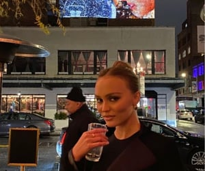 fashion, lily rose depp, and parisian style image