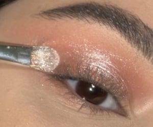 glitter, khelan, and eyeshadow image