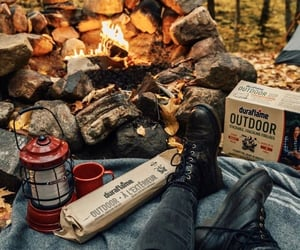 aesthetics, camping, and fall image