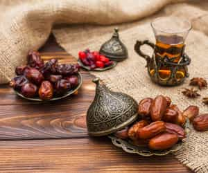 dates, food, and healthy food image
