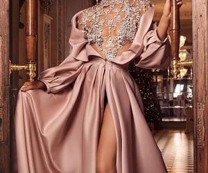 fashion, pink, and slit image
