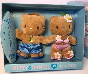 hello kitty, summer, and surf image