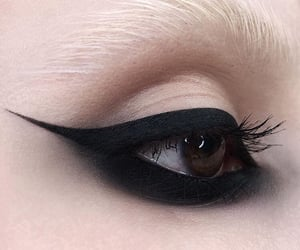 aesthetic, grunge, and makeup image