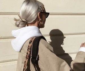 aesthetic, beige, and blond hair image