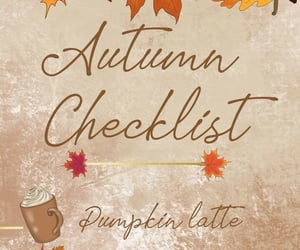 autumn, pumpkin, and bucket list image