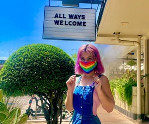 aesthetic, lgbtq, and pride image