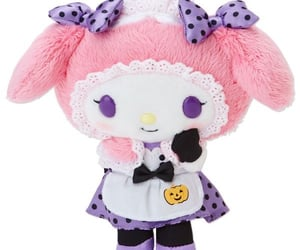 Halloween, my melody, and sanrio image