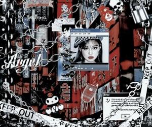 cyberpunk, bts, and edit theme image