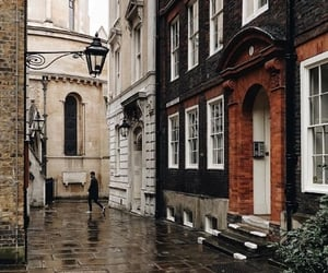 london, street, and england image