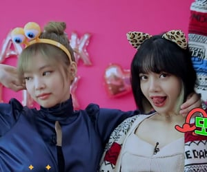 girls, lisa, and jennie image