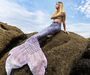 cosplay, siren, and mermaid image