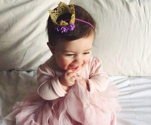 baby, princess, and cute image