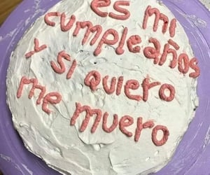 birthday, frases, and pastel image