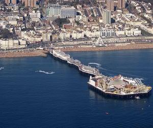 marine, england-uk, and brighton pier east sussex image