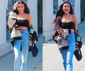 christmas, excited, and madison beer image