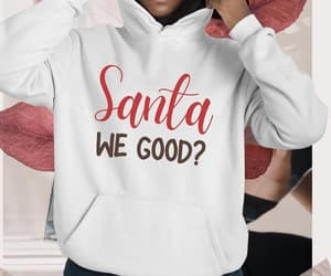 dear santa, etsy, and funny shirt image