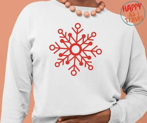 etsy, white christmas, and christmas sweater image