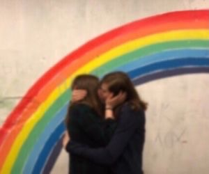 lesbian, girls, and lgbt image