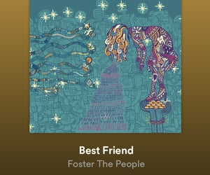 foster the people and best friend image