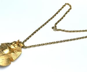 etsy, vintage jewelry, and pendant necklace image
