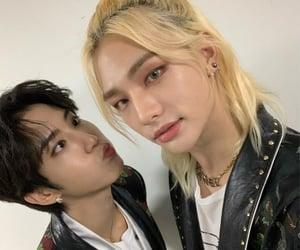 hyunjin, stray kids, and han image