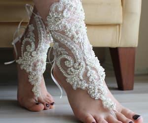 bangle, etsy, and beach barefoot image