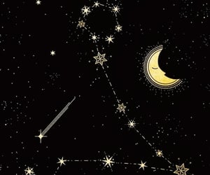 aesthetic, stars, and illustration image