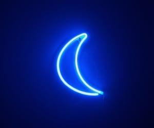 blue, led, and lights image