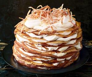 cake, food, and pumpkin image