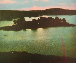 nature, Island, and vintage image