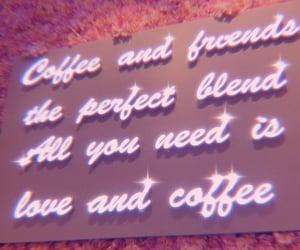 aesthetic, coffee, and neon image