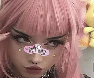 goth, icon, and égirl image