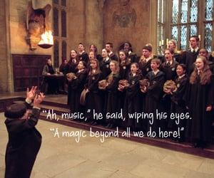 albus dumbledore, magic, and harry potter image