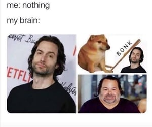 brain, lol, and meme image