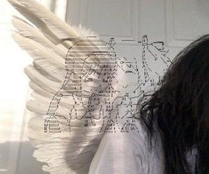 angel, aesthetic, and girl image