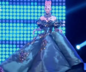 beauty, drag queens, and rupaul's drag race image