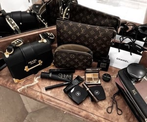 Louis Vuitton, Prada, and chanel image