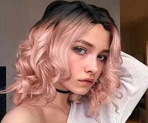 aesthetic, kawaii, and cute girl image