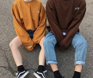 aesthetic, couple, and clothes image