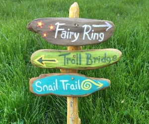 colorful, cottage, and snail trail image