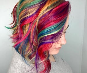 colours, cool, and hair image