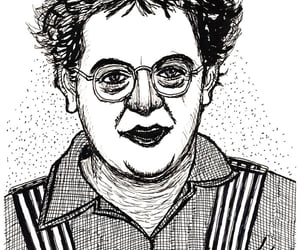 caricatura, ilustracao, and karikatur image