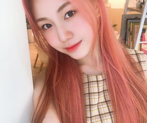 girl group, woollim entertainment, and jeong dahyun image