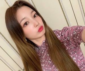 girl group, woollim entertainment, and kim yeonhee image