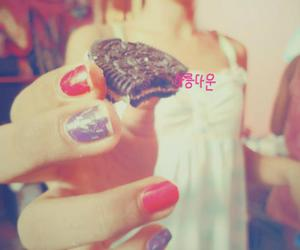 chocolate, nails, and photography image