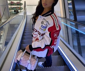 dior bag, sneakers, and fashion image